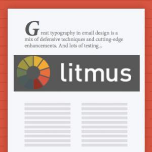 Litmus tips fonts in emails