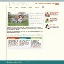Drupal website for Non-profit: adoptionadvocates.net