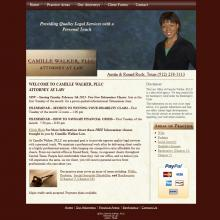 Wordpress website for Austin Lawyer