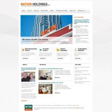 Drupal Austin Real Estate website: nationholdings.com