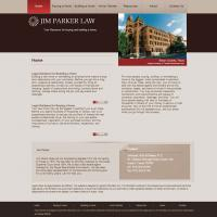 Drupal web design for Austin lawyer