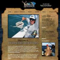 Hunting and Fishing Drupal Website:outrageousoutfitters.net
